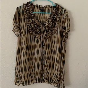 Tops - East 5th brand sheer blouse